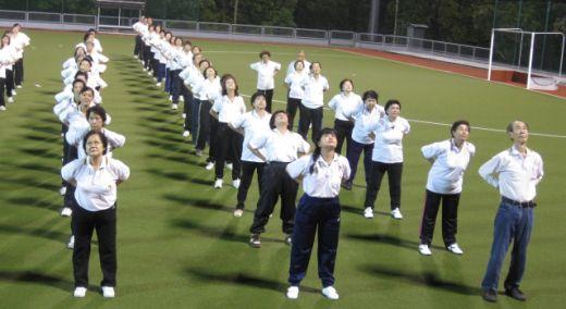 古晋节2012年元极舞大汇演